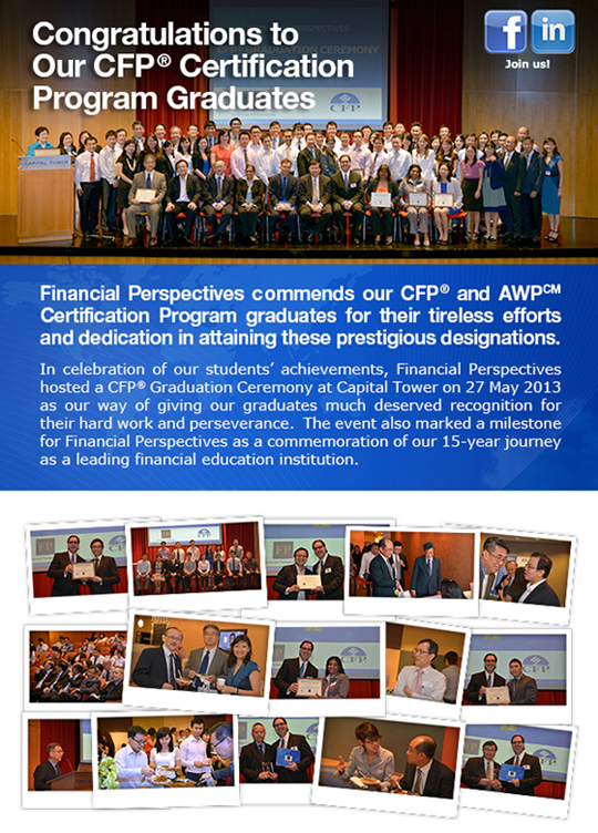 CFP® Graduation Ceremony